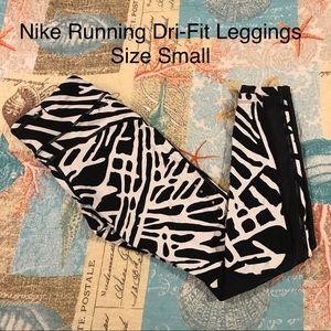 Nike Running Dri-Fit Leggings Size Small